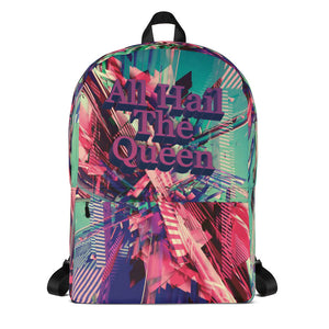 Hail The Queen Backpack-THE WISE VISIONS