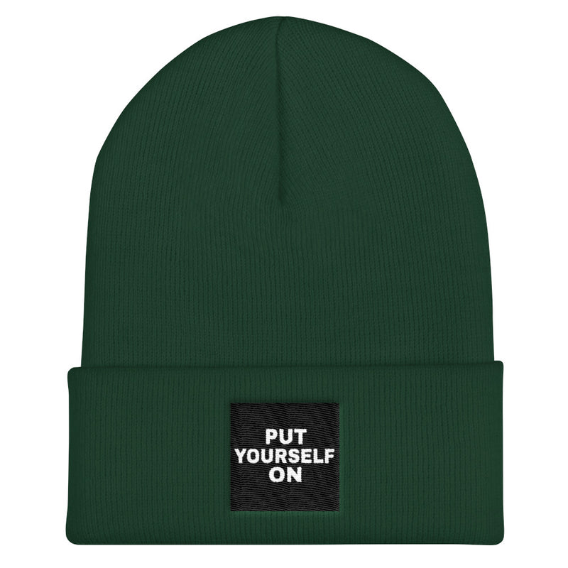 Self Made Cuffed Beanie-THE WISE VISIONS