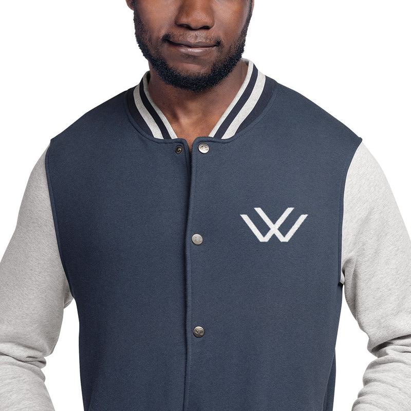 The WISE Visions X Champion Letterman Jacket-THE WISE VISIONS