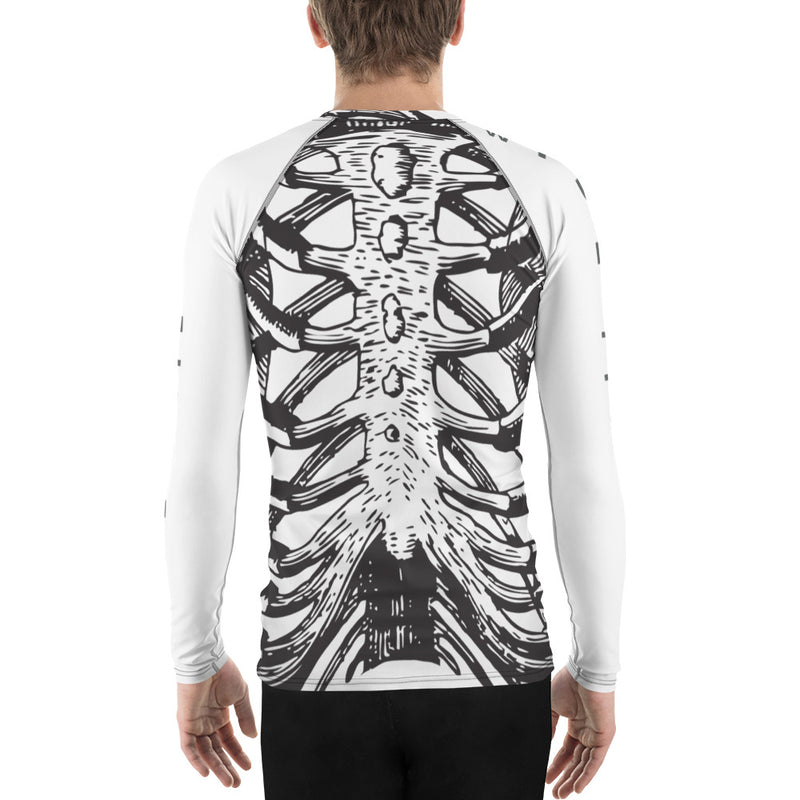 Bone Health Men's Rash Guard-THE WISE VISIONS