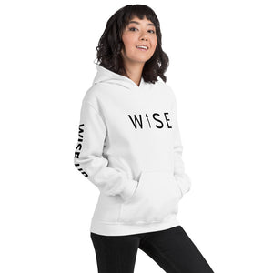 WISE UP Women's Alternate Hooded Sweatshirt-THE WISE VISIONS