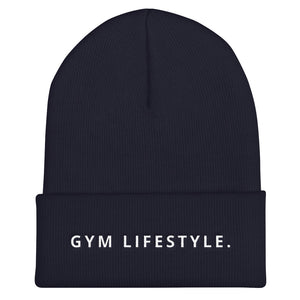 Gym Lifestyle Cuffed Beanie-THE WISE VISIONS