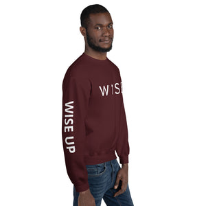 WISE UP Alternate Men's Sweatshirt-THE WISE VISIONS