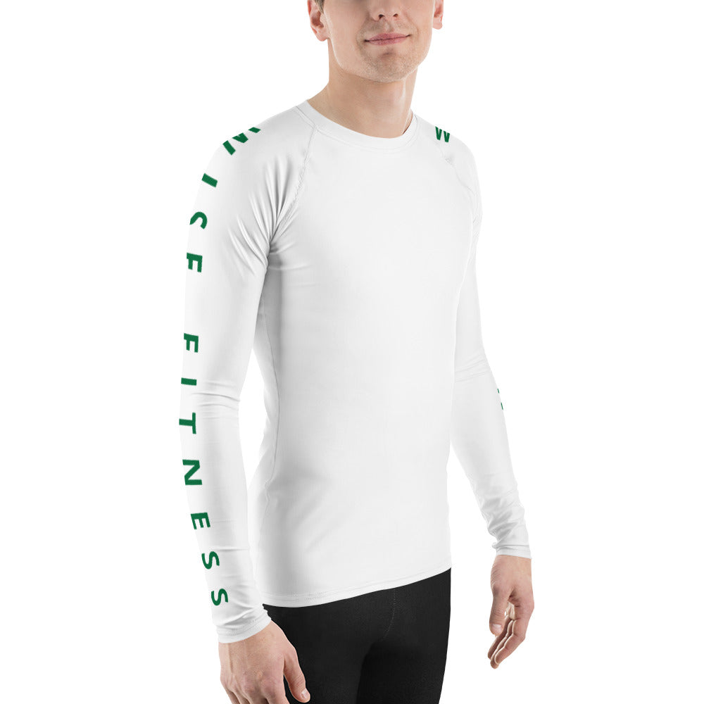 Partisan Men's Rash Guard-THE WISE VISIONS