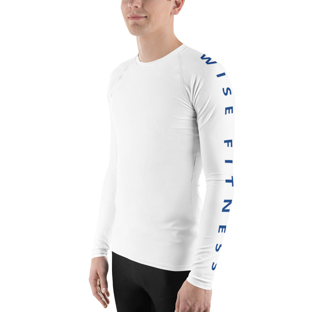 Blue Heroes Men's Rash Guard-THE WISE VISIONS