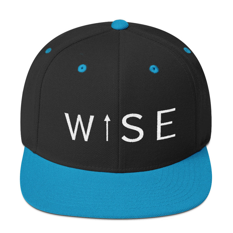 WISE UP Snapback Hat-THE WISE VISIONS
