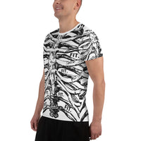 Fit Lifestyle Men's Athletic T-Shirt-THE WISE VISIONS