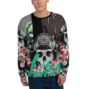 Sacred One Men's Sweatshirt-THE WISE VISIONS