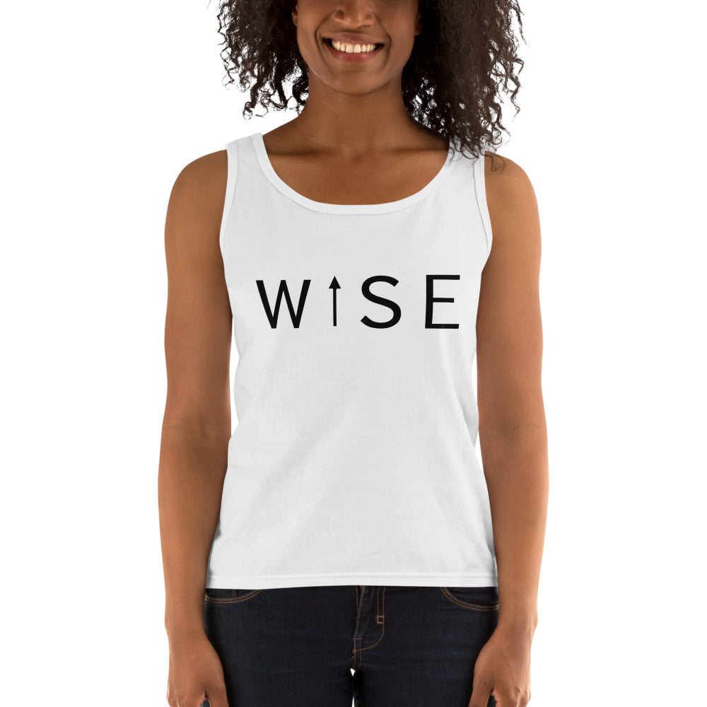 WISE UP Women's Tank-THE WISE VISIONS