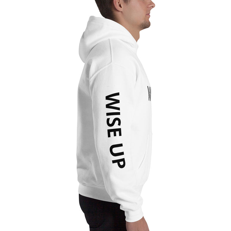 WISE UP Hooded Sweatshirt-THE WISE VISIONS