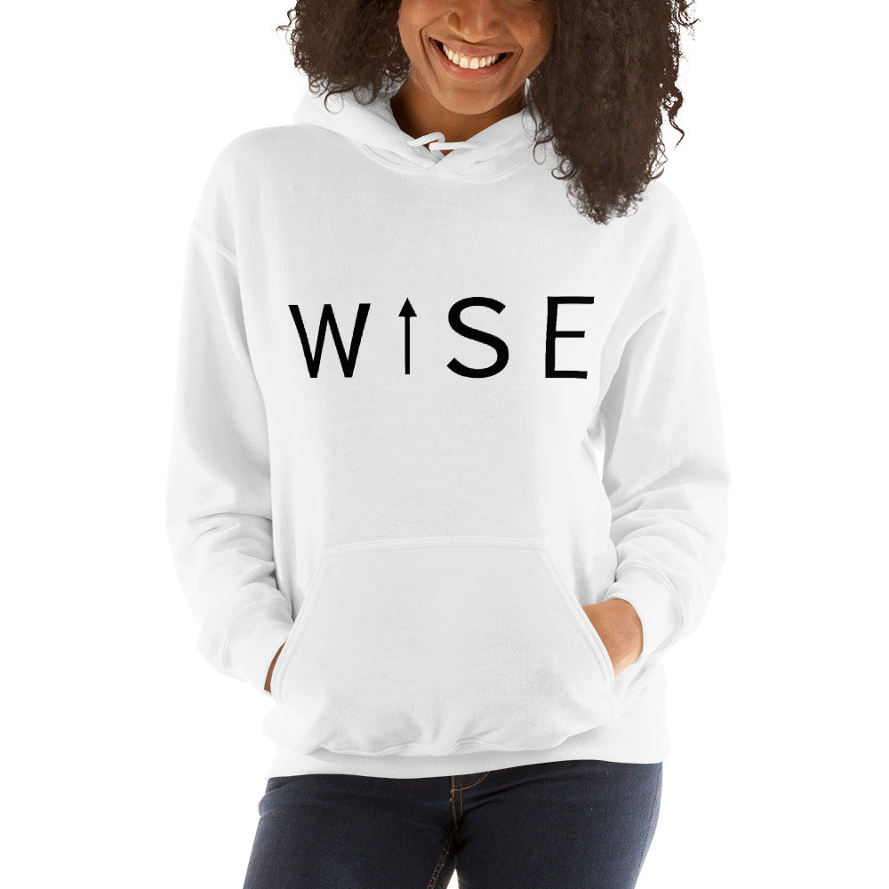 WISE UP Women's Hooded Sweatshirt-THE WISE VISIONS