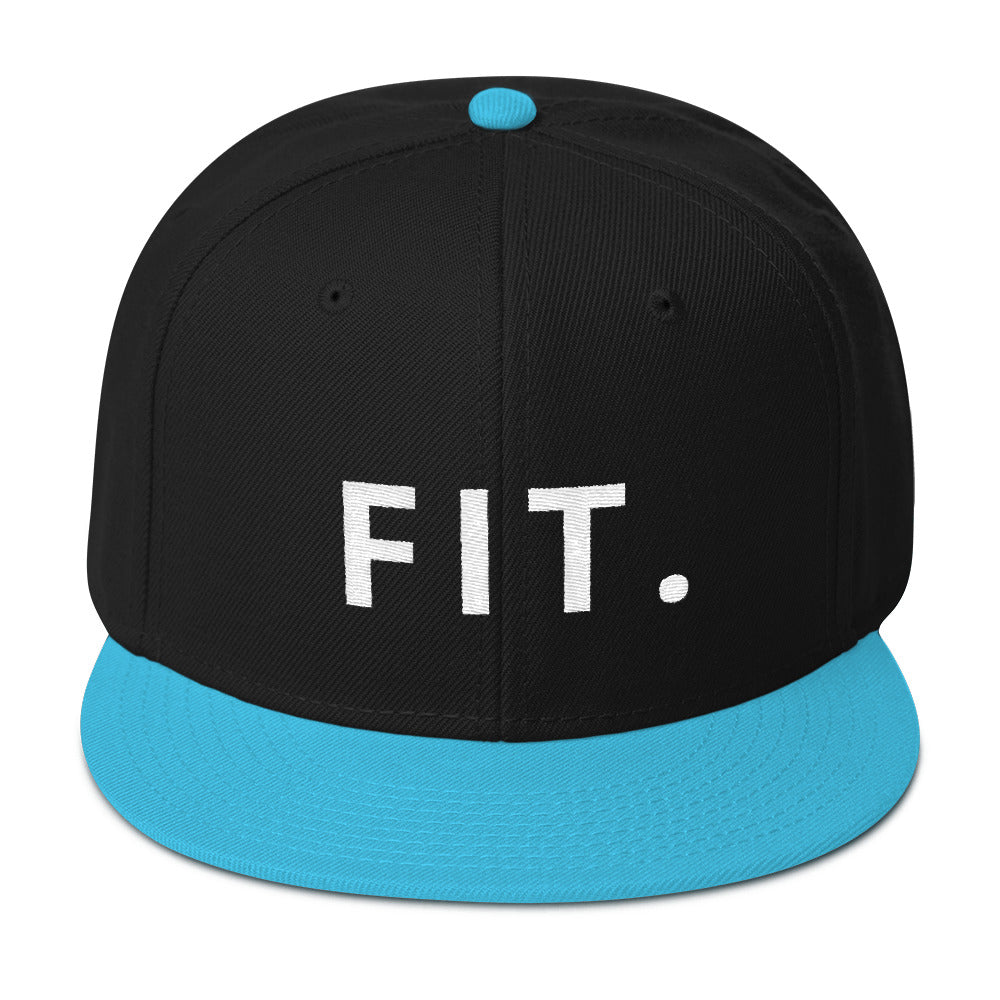 Fit Snapback Hat-THE WISE VISIONS
