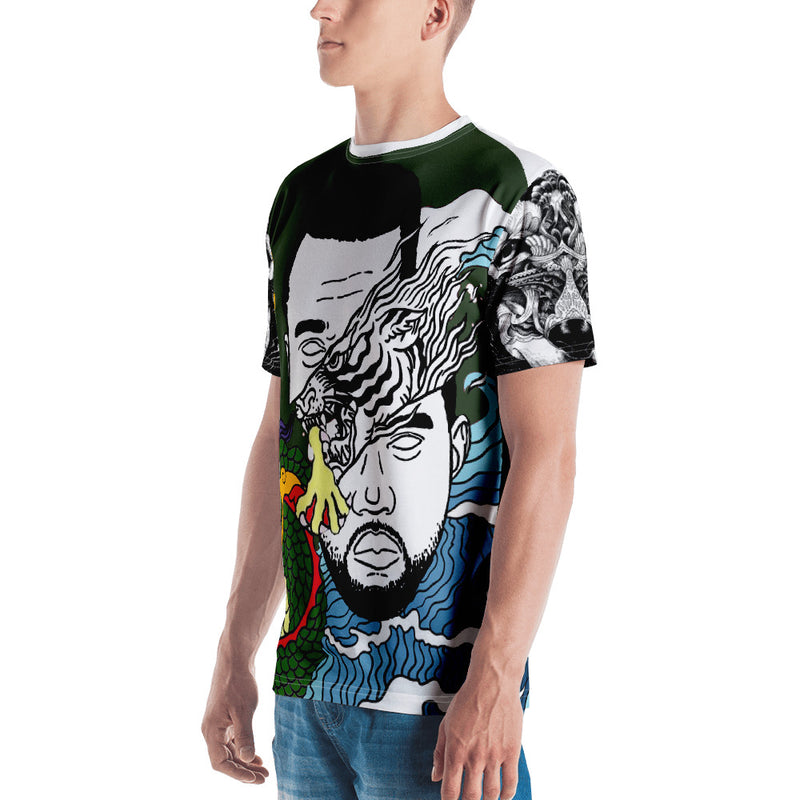 Dark Green WI$E Culture Men's T-shirt-THE WISE VISIONS
