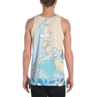 Miami Nights Men's Tank Top-THE WISE VISIONS