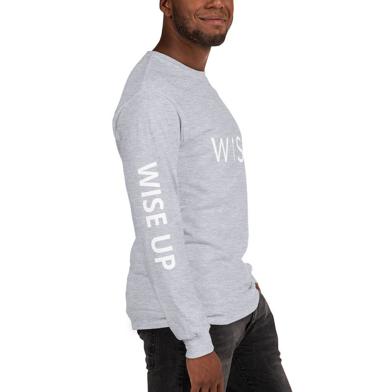 WISE UP Alternate Men's Long Sleeve T-Shirt-THE WISE VISIONS