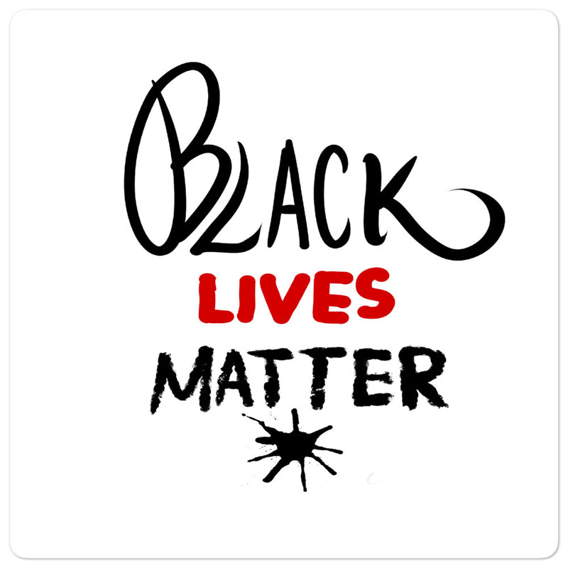 Black Lives Matter Bubble-free stickers