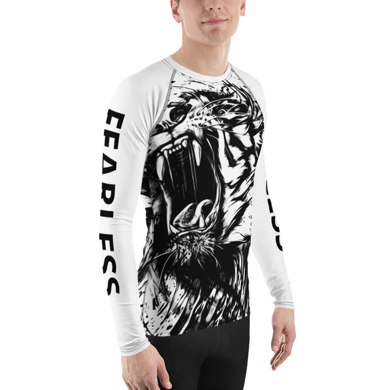 Fearless Men's Rash Guard-THE WISE VISIONS