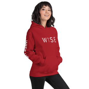 WISE UP Alternate Women's Hooded Sweatshirt-THE WISE VISIONS