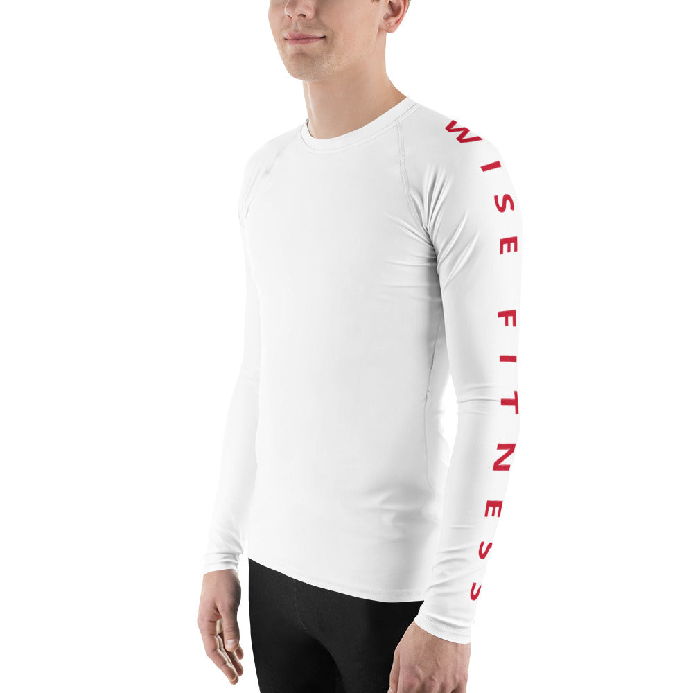 Unstoppable Men's Rash Guard-THE WISE VISIONS