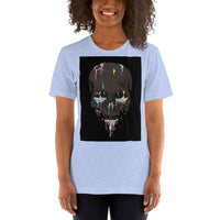 Skull Paintball Women's Classic Fit T-Shirt-THE WISE VISIONS