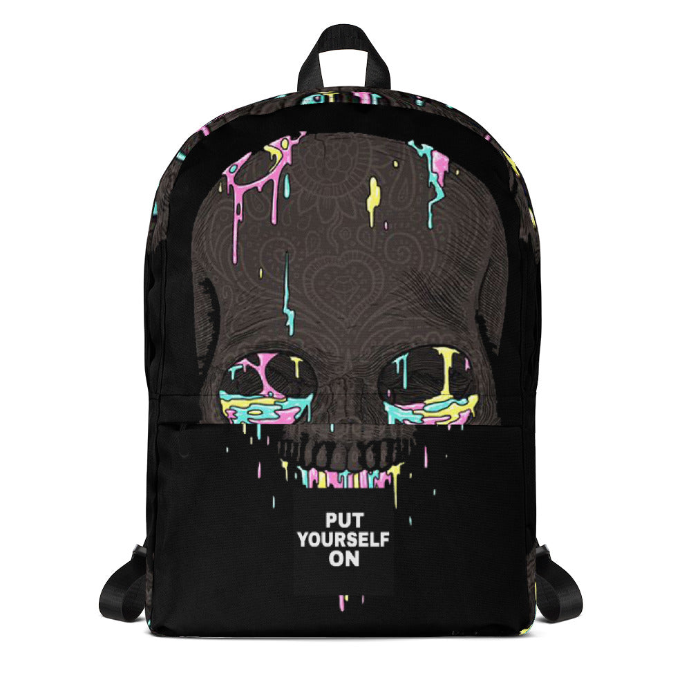 Skull Paintball Backpack-THE WISE VISIONS