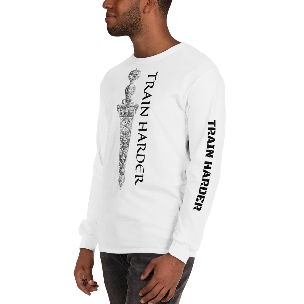 Train Harder Long Sleeve T-Shirt-THE WISE VISIONS