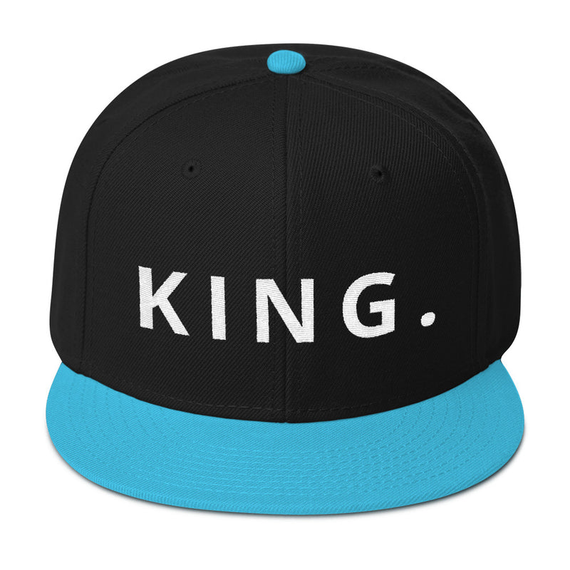 KING Snapback Hat-THE WISE VISIONS