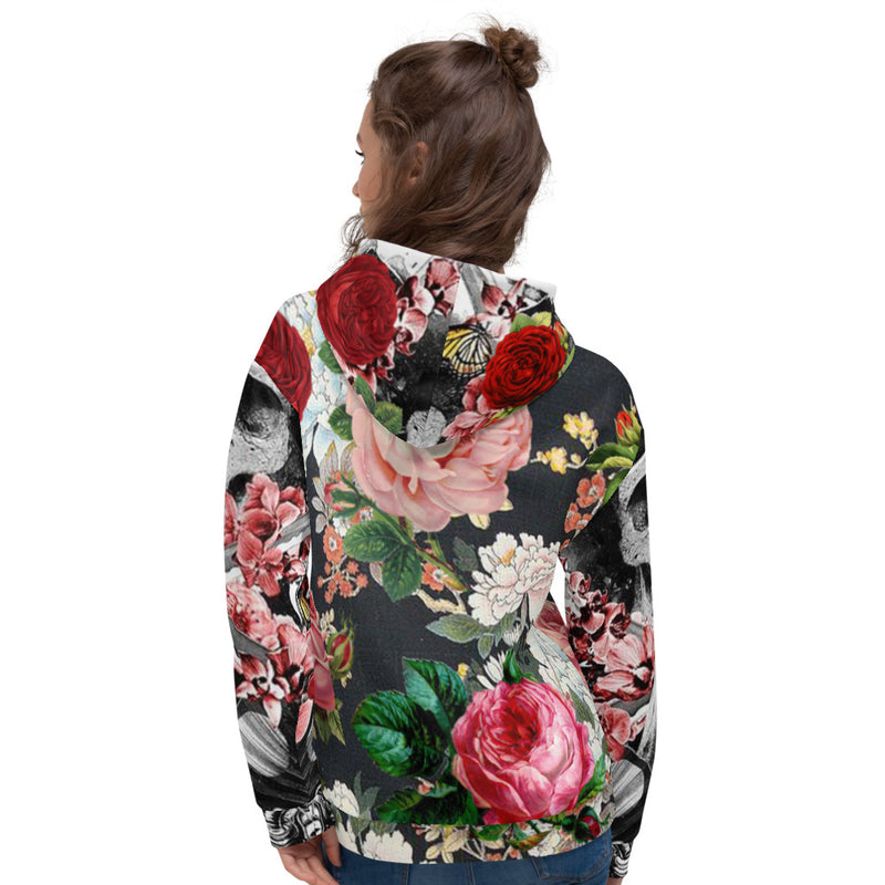 Flower Power Women's Premium Hoodie-THE WISE VISIONS