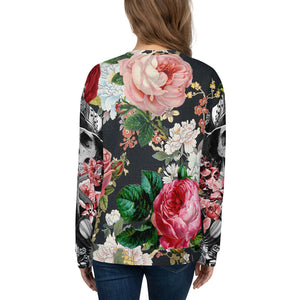 Flower Power Women's Sweatshirt-THE WISE VISIONS