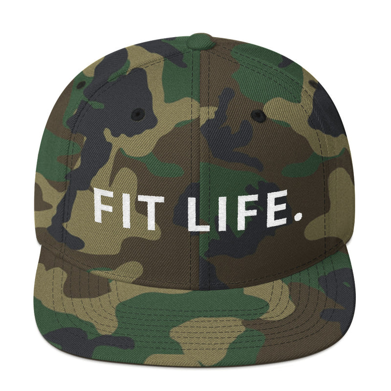 Fit Life Snapback Hat-THE WISE VISIONS