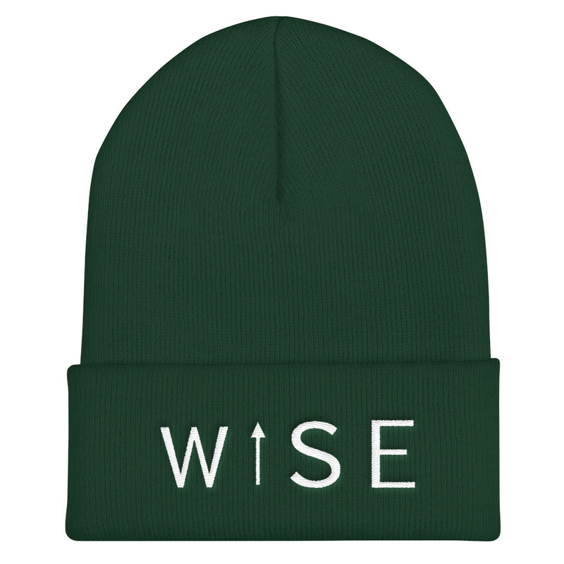 WISE UP Cuffed Beanie-THE WISE VISIONS