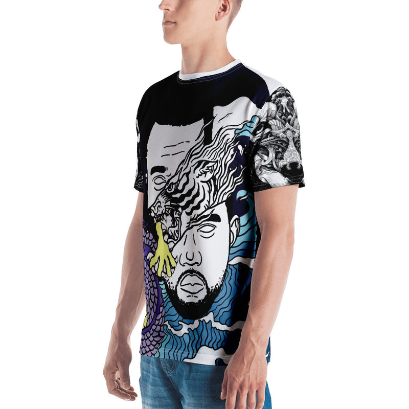 Dark Blue WI$E Culture Men's T-shirt-THE WISE VISIONS