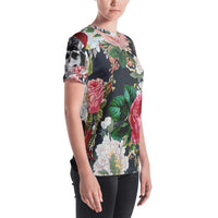 Flower Power Women's Classic Fit T-shirt-THE WISE VISIONS