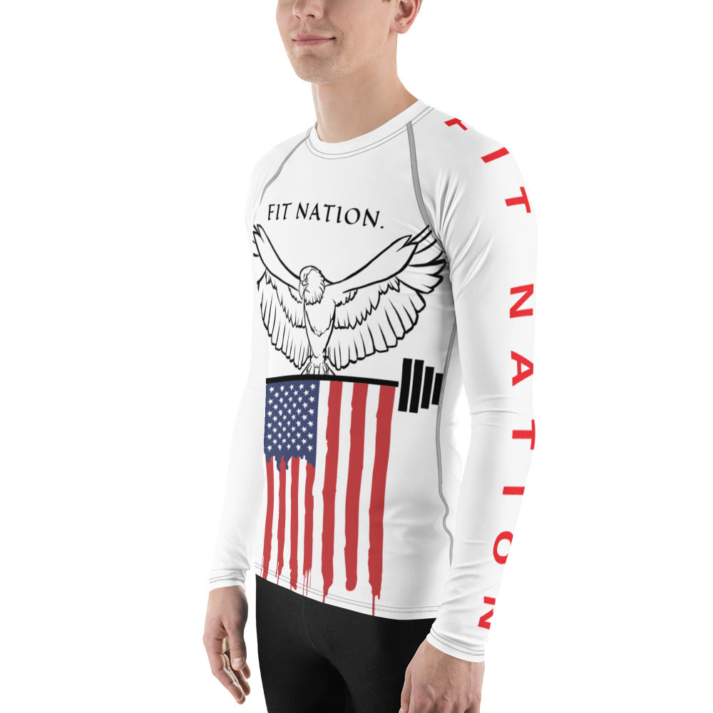 Fit Nation Men's Rash Guard-THE WISE VISIONS