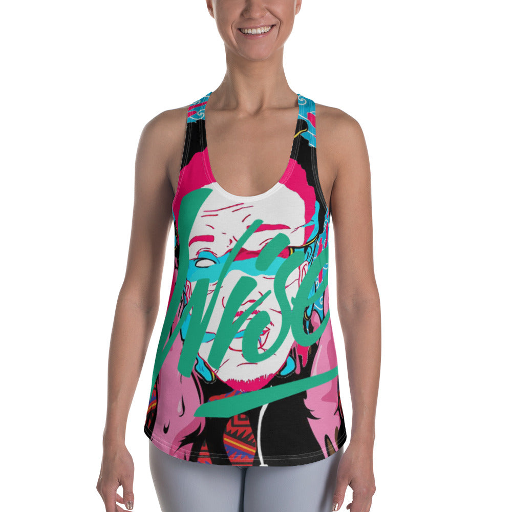 Wisdom Women's Racerback Tank-THE WISE VISIONS