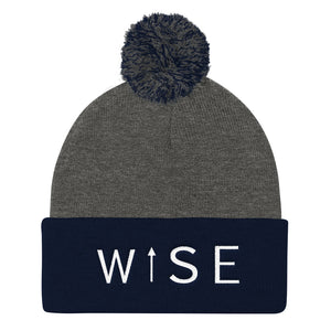 WISE UP Alternate Pom Pom Knit Cap-THE WISE VISIONS