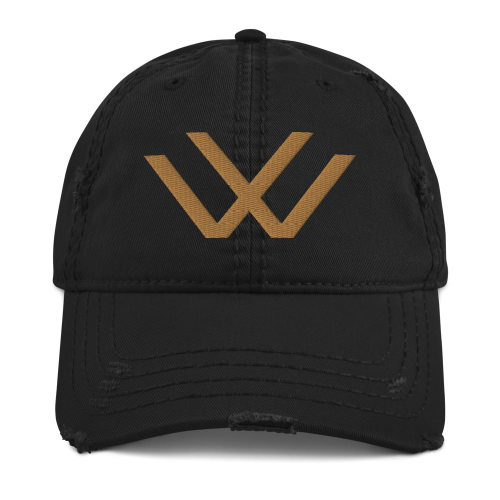 Wise Visions Distressed Dad Hat