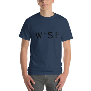WISE UP Men's Classic Fit Short-Sleeve T-Shirt-THE WISE VISIONS