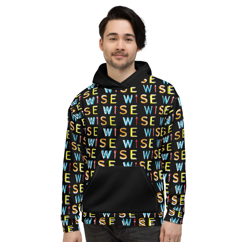 Colorful WISE UP Men's Premium Hoodie