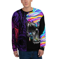 The Drip Men's Sweatshirt-THE WISE VISIONS