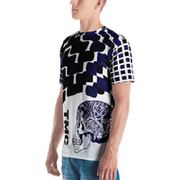 Blue Flagship Men's T-shirt-THE WISE VISIONS