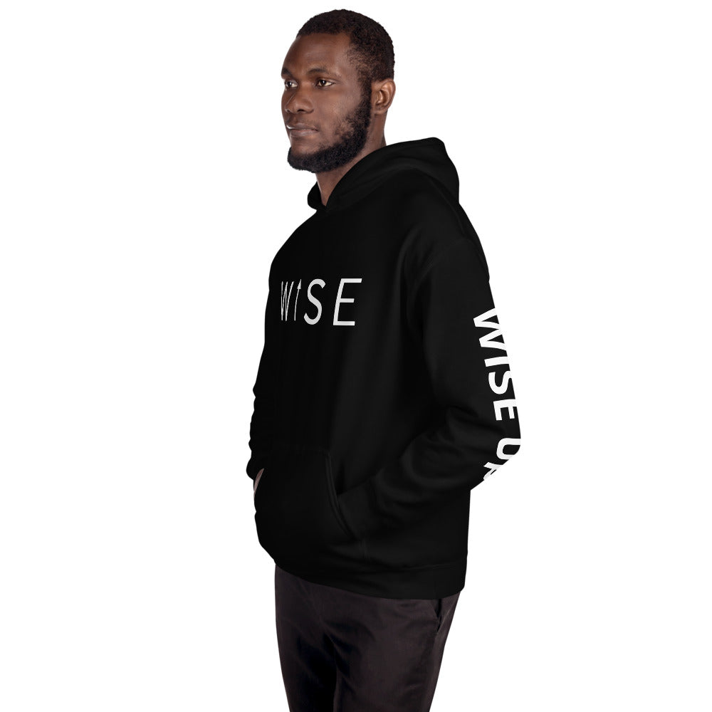 WISE UP Alternate Men's Hooded Sweatshirt-THE WISE VISIONS
