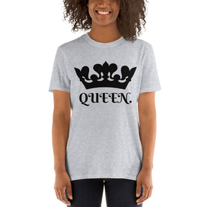 QUEEN Women's Classic Fit T-Shirt-THE WISE VISIONS