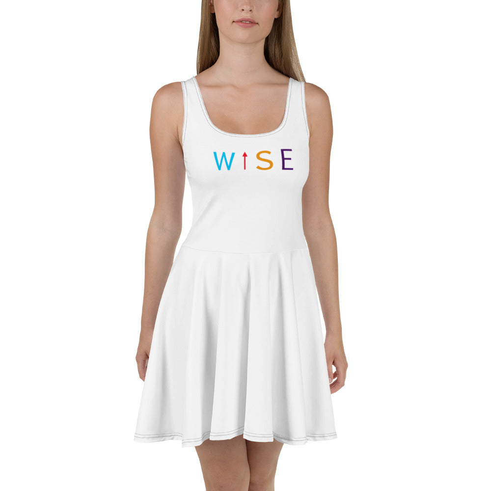 Colorful WISE UP Women's Alternate Flare Dress-THE WISE VISIONS