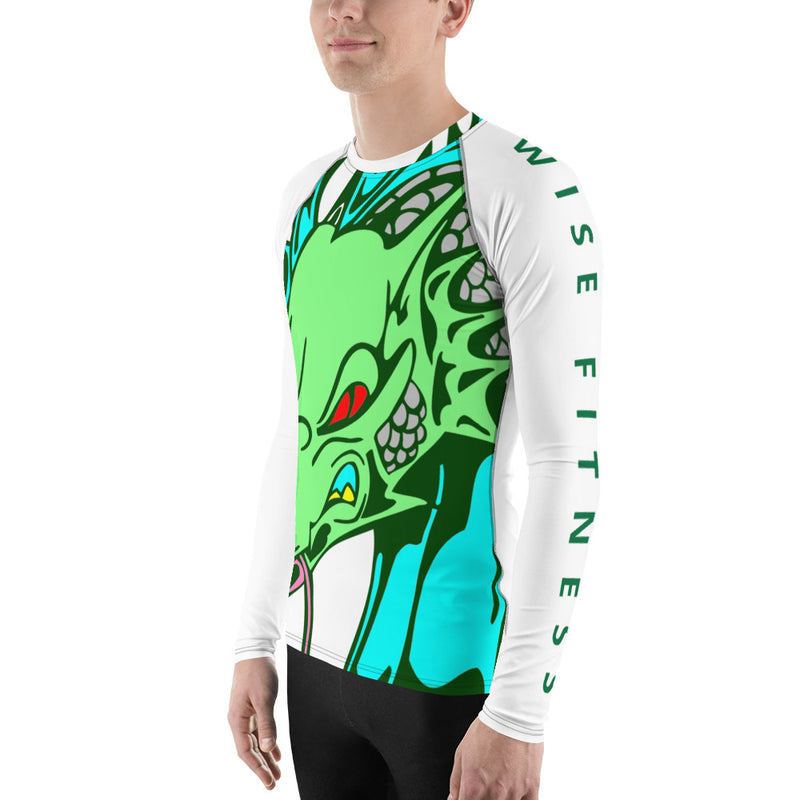 Fit Slayer Men's Rash Guard-THE WISE VISIONS
