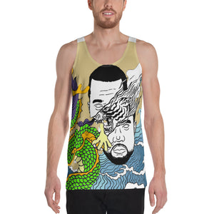 Beige WI$E Culture Men's Tank Top-THE WISE VISIONS