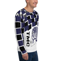 Blue Flagship Men's Sweatshirt-THE WISE VISIONS