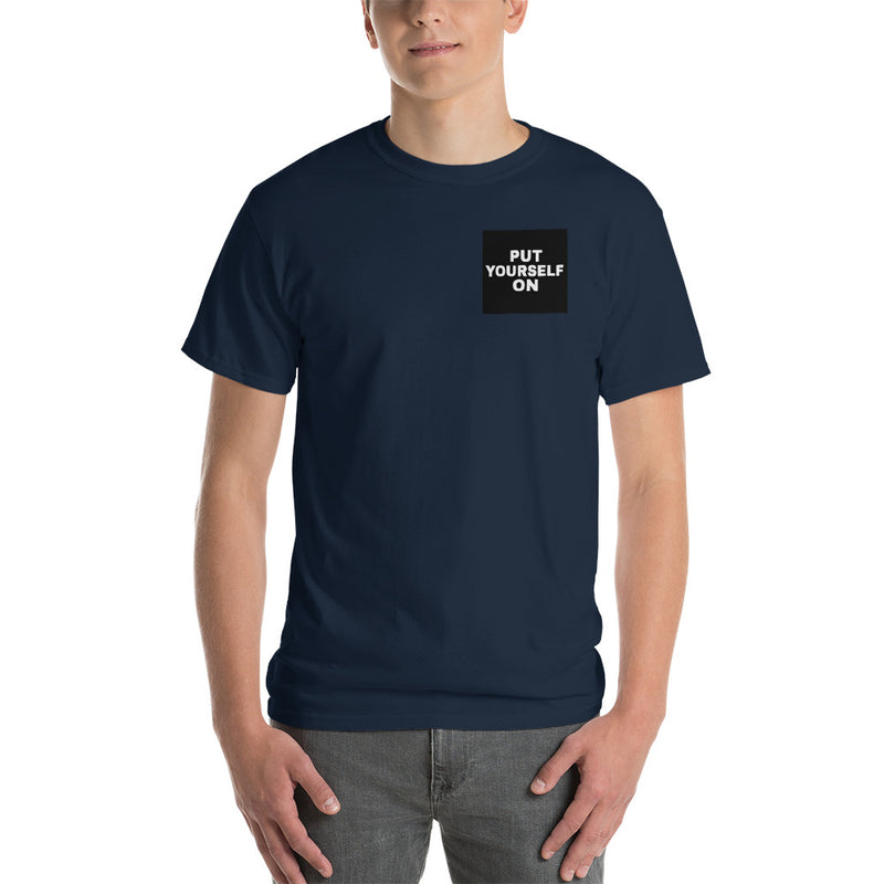 Self Made Men's Classic Fit Short-Sleeve T-Shirt-THE WISE VISIONS