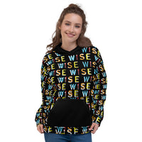 Colorful WISE UP Women's Premium Hoodie