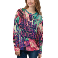 Hail The Queen Women's Sweatshirt-THE WISE VISIONS